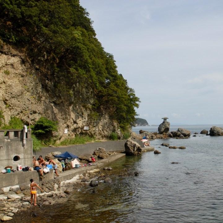 shimoda with kids izu peninsular nabetahama