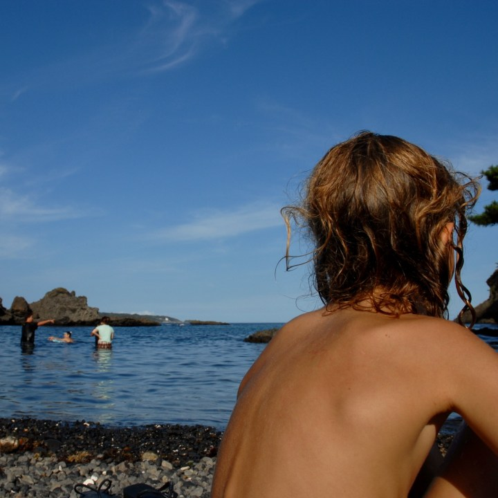 japan with kids izu peninsular touji beach