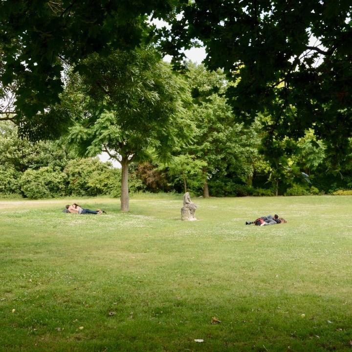 crystal palace park with kids picnic spot