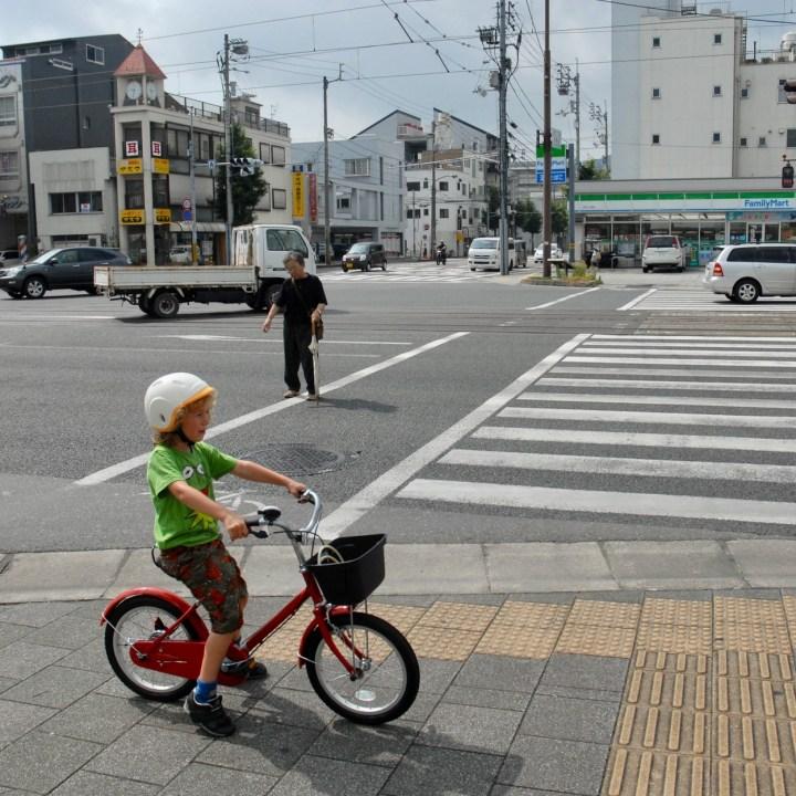 kochi japan kids bike tour