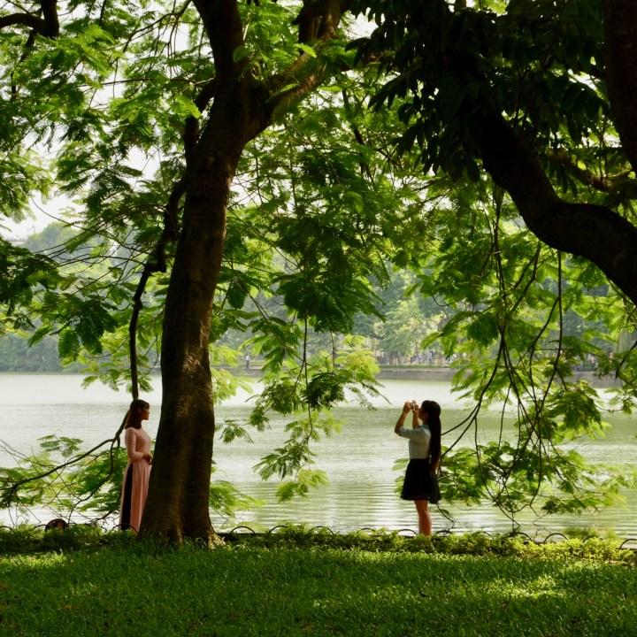 travel with kids vietnam hanoi ao dai
