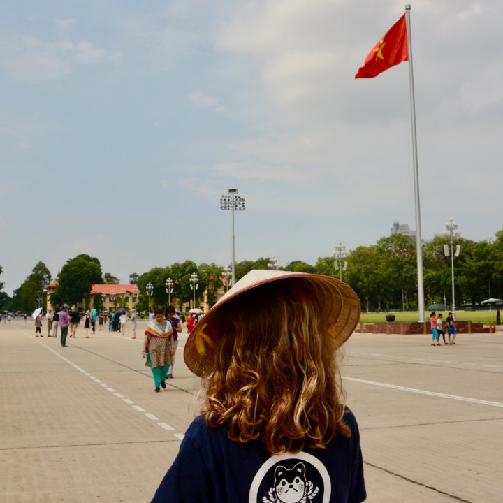travel with kids vietnam hanoi ho chi minh non la