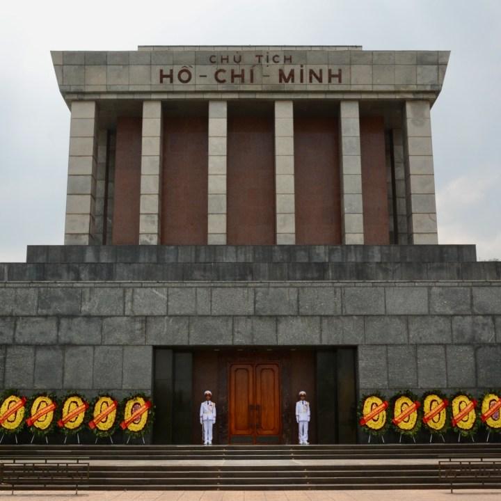 travel with kids vietnam hanoi ho chi minh mausoleum