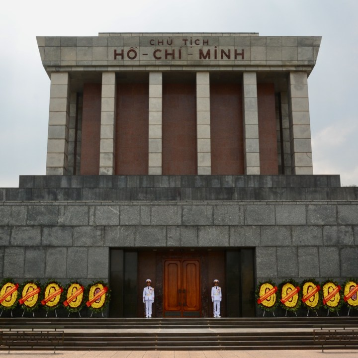 travel with kids vietnam hanoi ho chi minh mausoleum