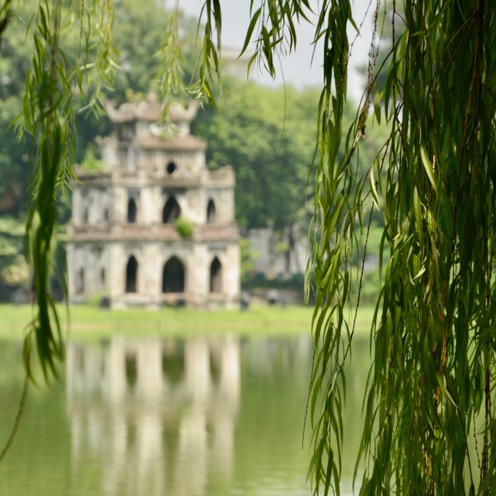 travel with kids vietnam hoi an turtle tower