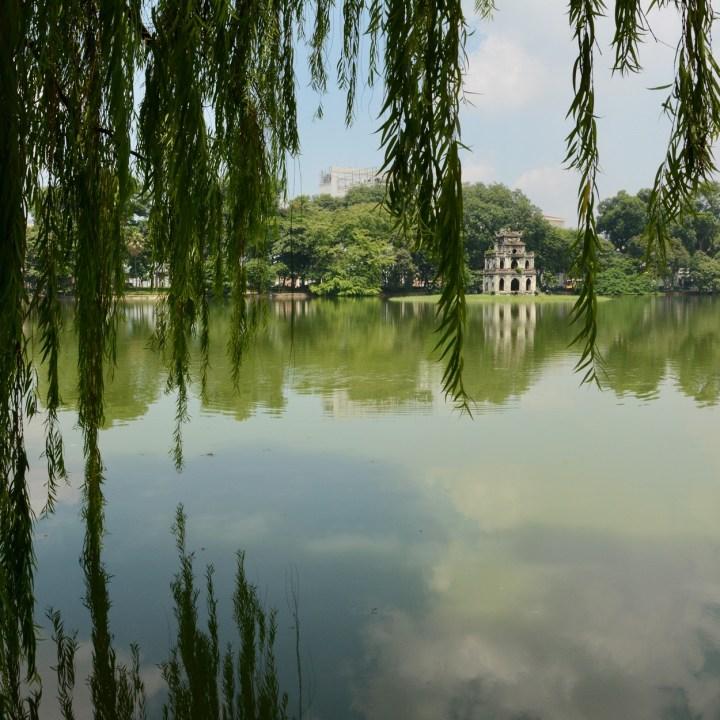 travel with kids vietnam hoi an hoan kiem lake