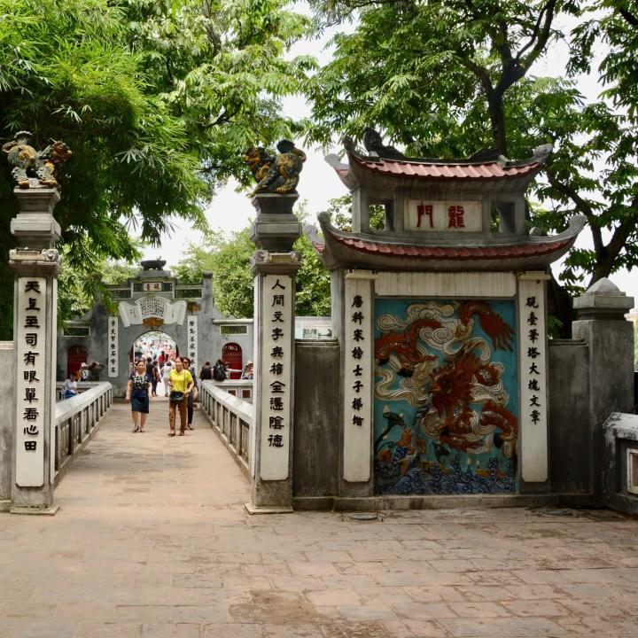 travel with kids vietnam hoi an ngoc son temple entrance