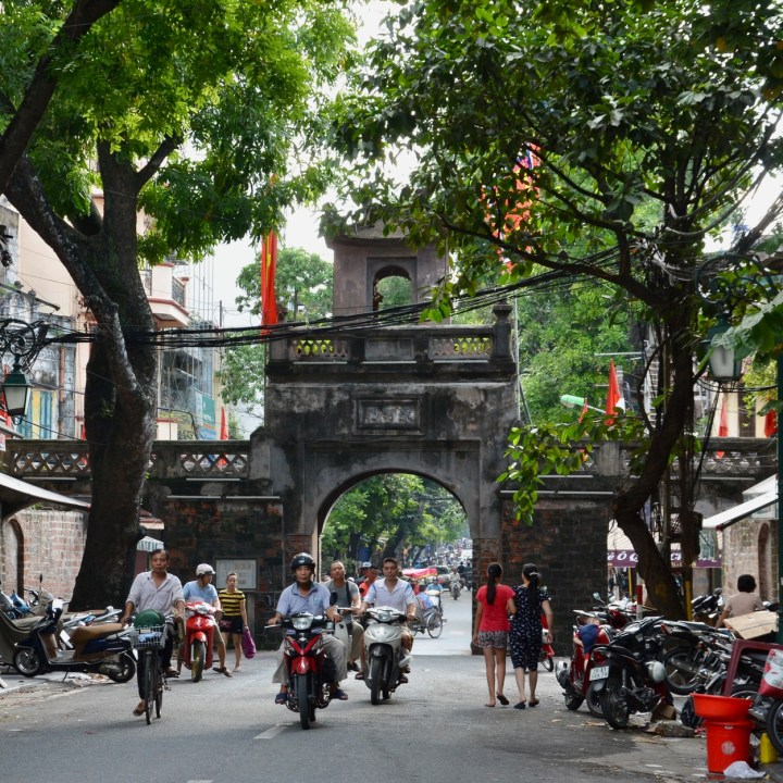 travel with kids vietnam hanoi gate