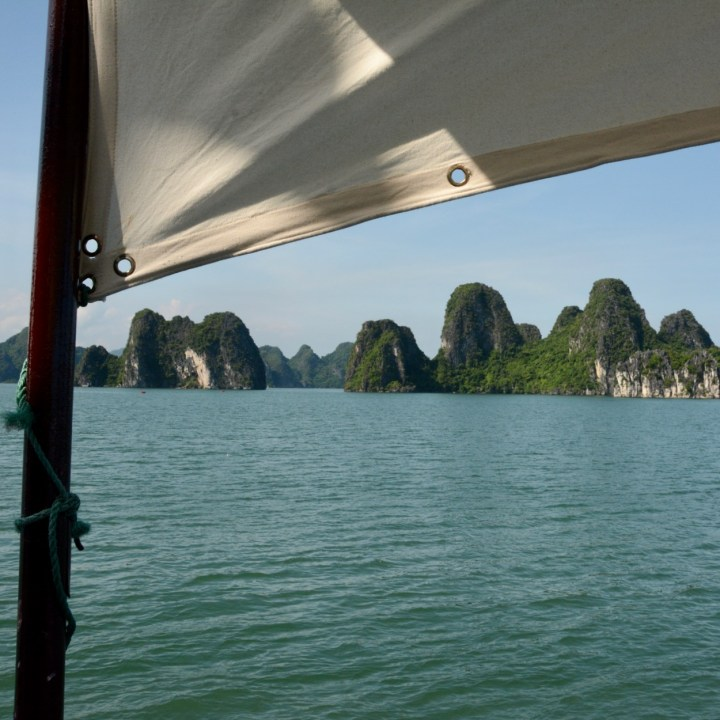 vietnam with kids ha long bay sun sail
