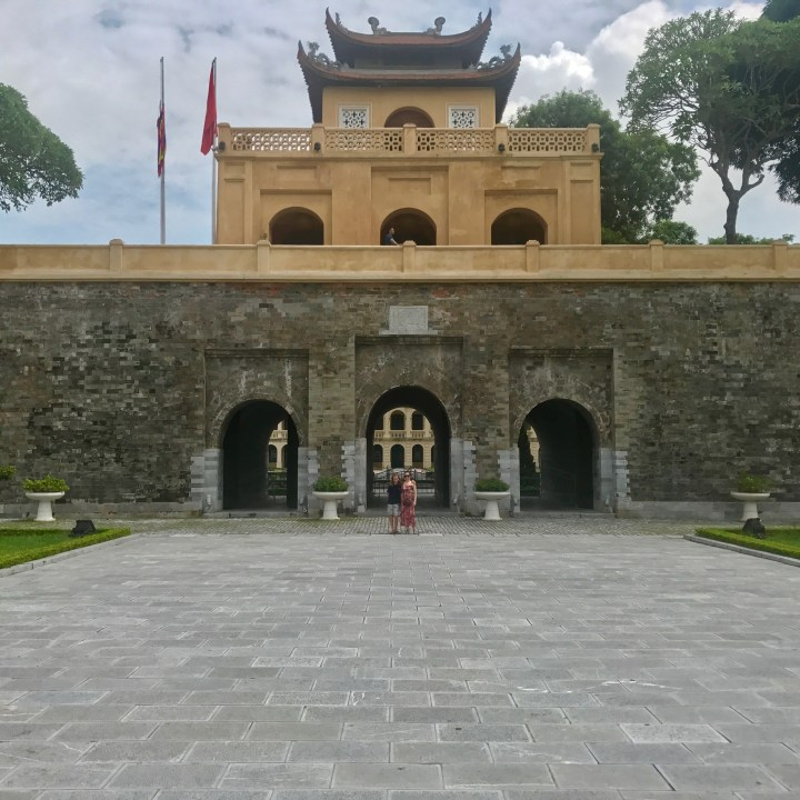 travel with kids vietnam hanoi citadel gate