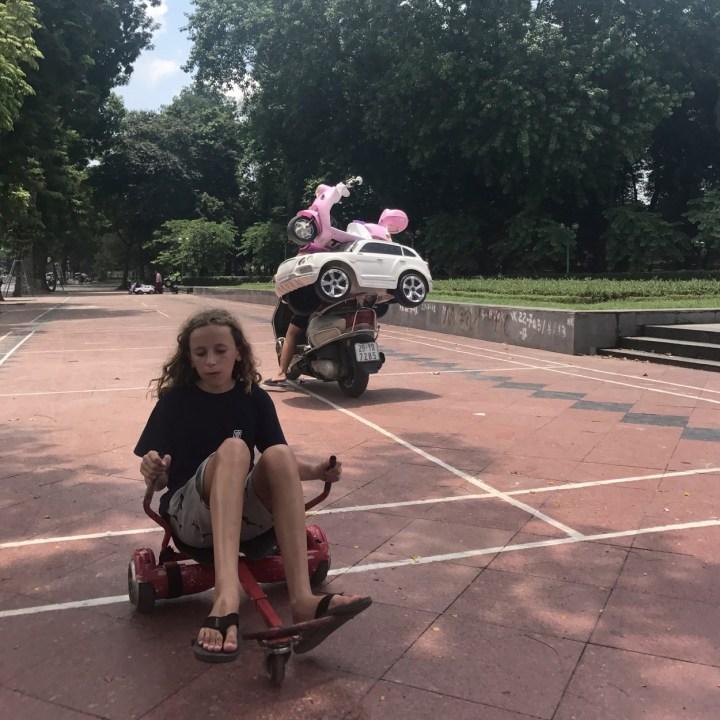 travel with kids vietnam hanoi fun times