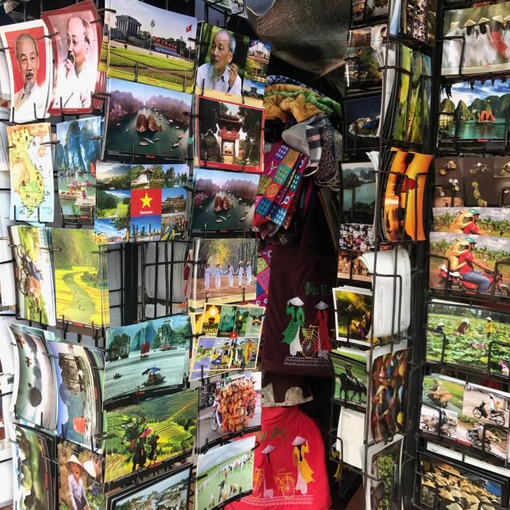 travel with kids vietnam hanoi ho chi minh postcards
