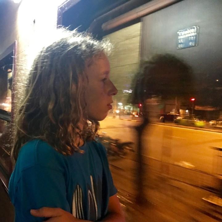 travel with kids vietnam overnight train