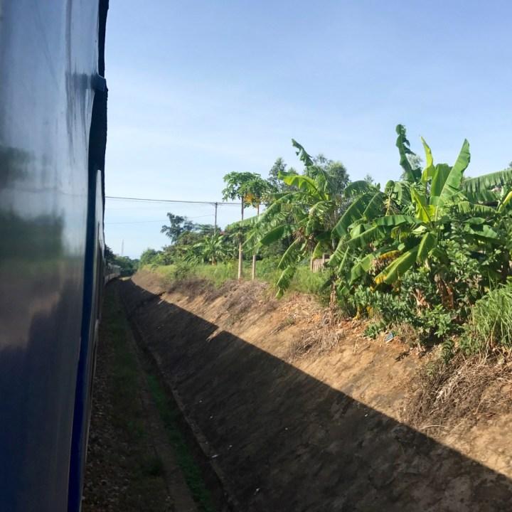 travel with kids vietnam hanoi train