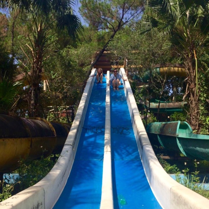 travel with kids vietnam hue abandoned waterpark