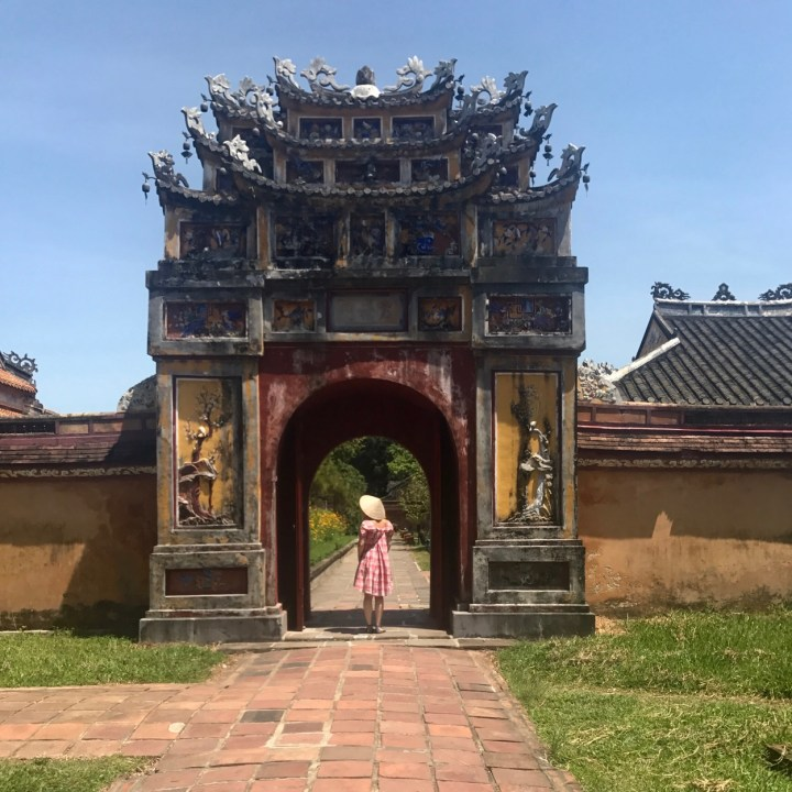 travel with kids vietnam hue royal palace