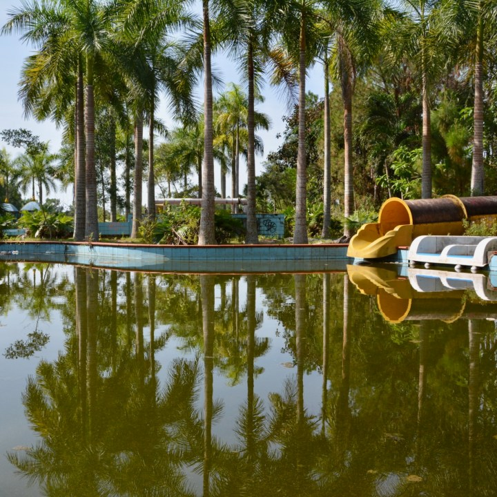 vietnam with kids hue abandoned waterpark pool