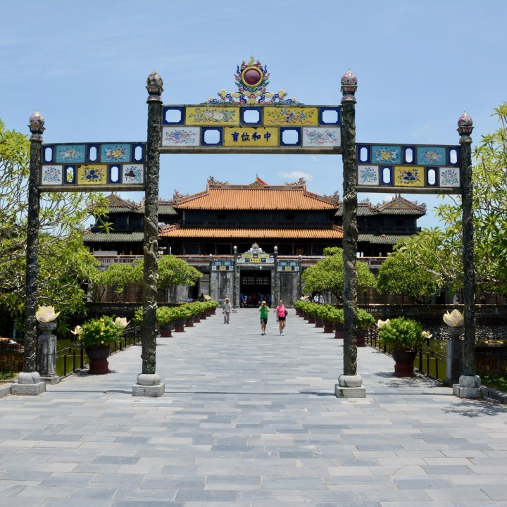 vietnam travel with kids hue citadel citadel entrance