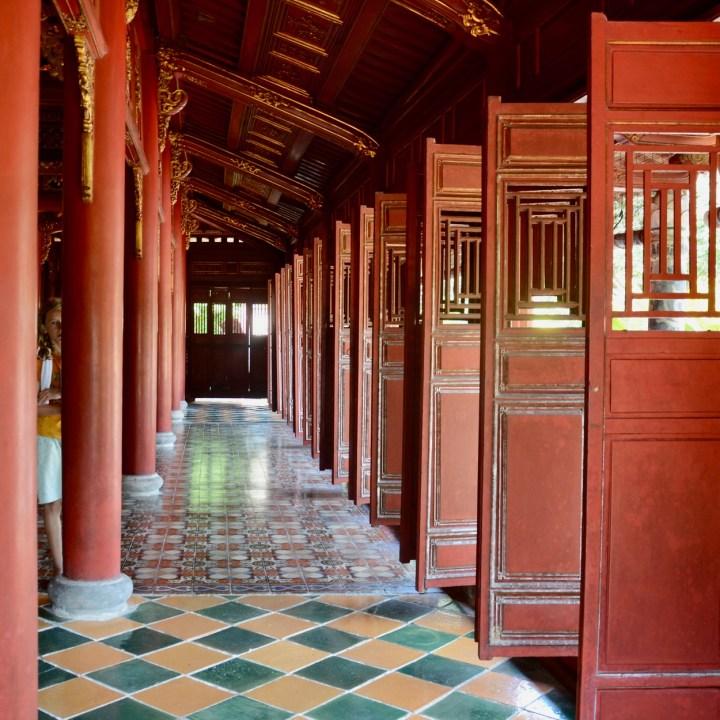vietnam travel with kids hue citadel to mieu temple