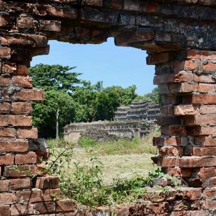 vietnam travel with kids hue citadel ruin