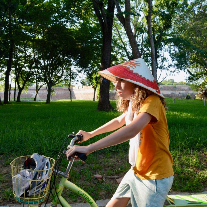 Hue, Vietnam   Bike Ride Through the Rural Outskirts of Hue
