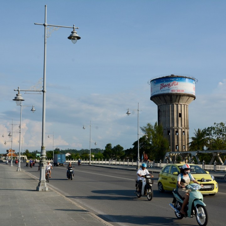 vietnam travel with kids hue water tower