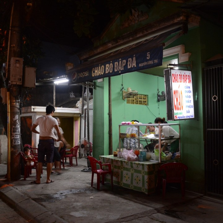 vietnam with kids hue evenings chao bo
