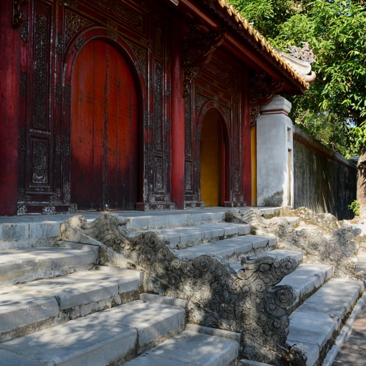 vietnam with kids hue gia long tomb dragon stairs