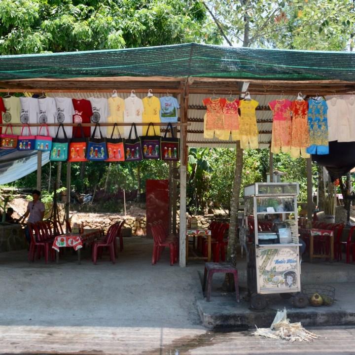 vietnam with kids hue tu duc tomb souvenir