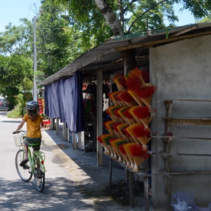 vietnam with kids hue cycling tour