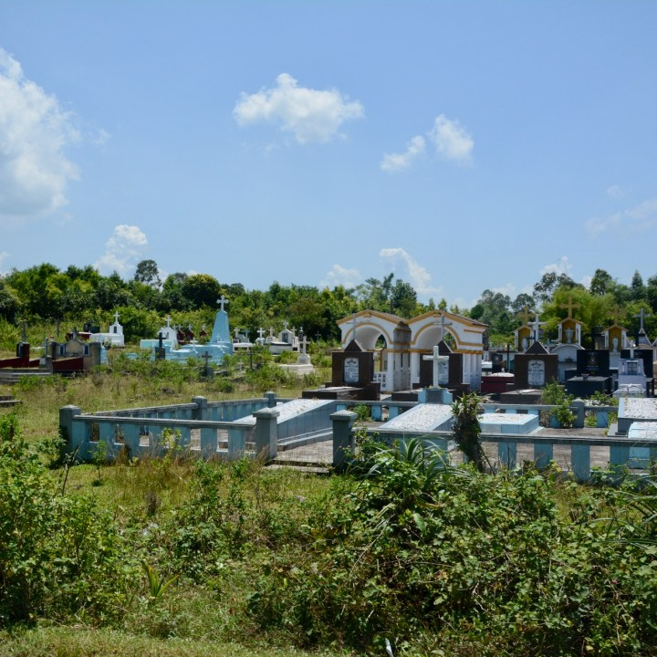 vietnam with kids hue cemetery
