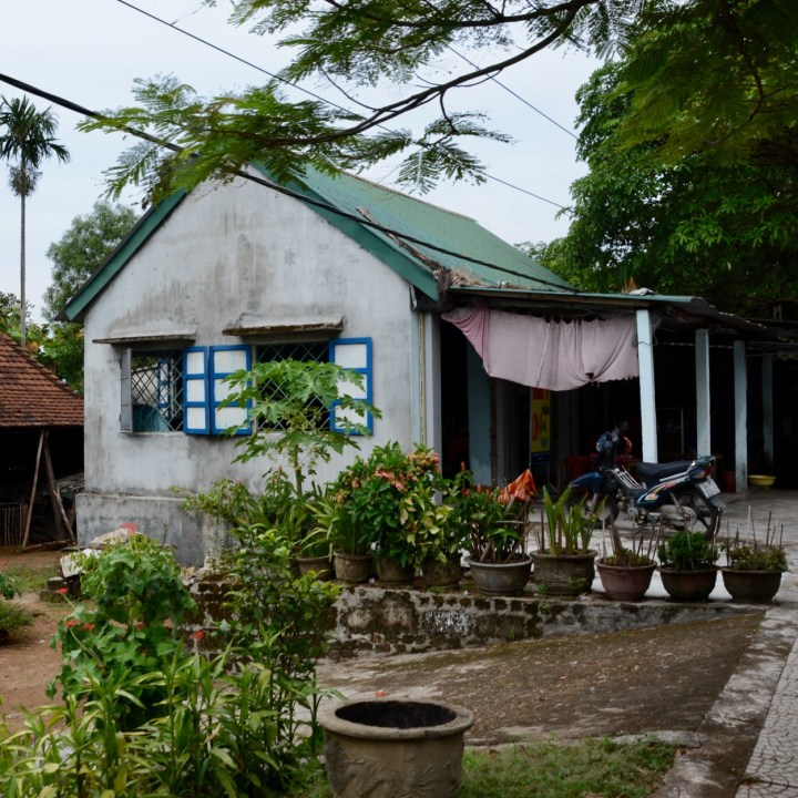vietnam travel with kids da bac village pretty house
