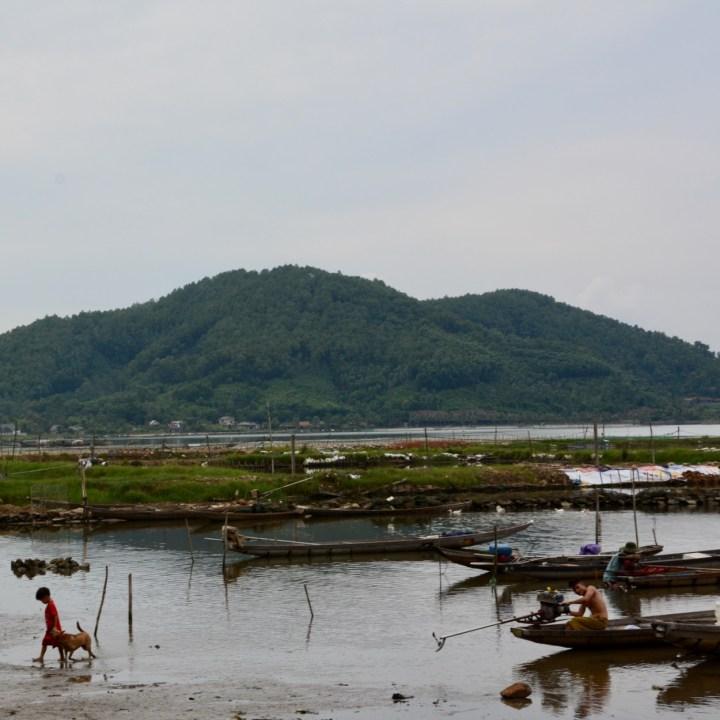 vietnam travel with kids da bac village locals