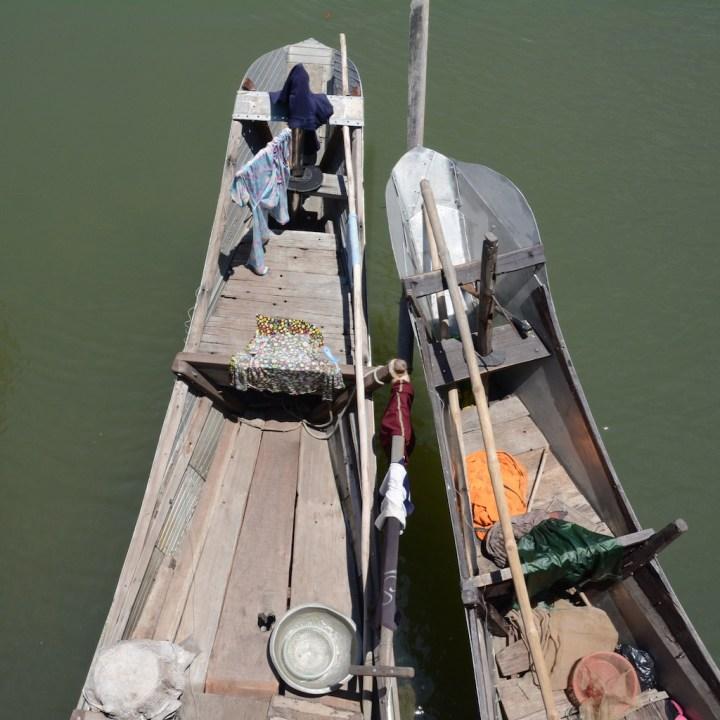 vietnam with kids cai lau lagoon fishing boat