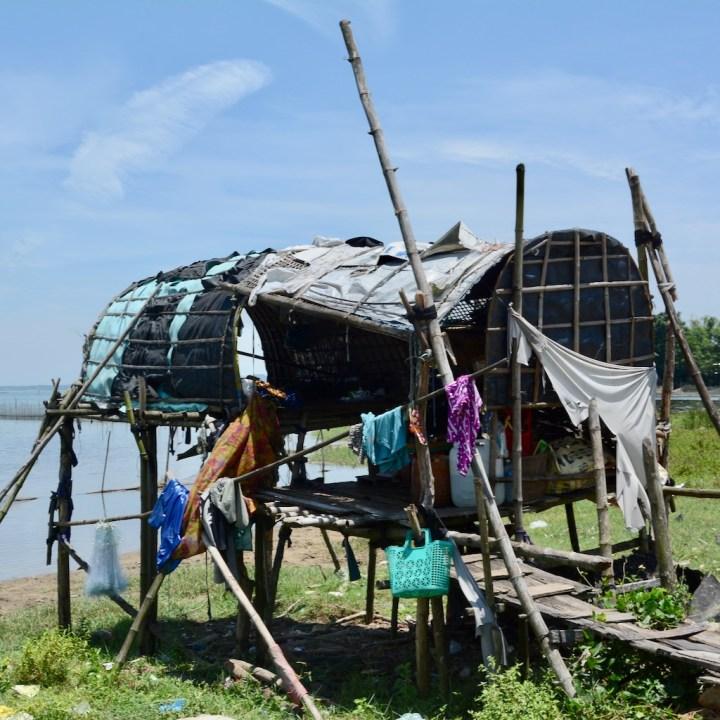 vietnam with kids cai lau lagoon stilt house