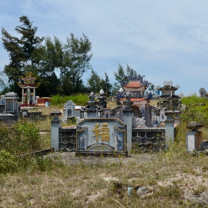vietnam with kids cai lau lagoon cemetery