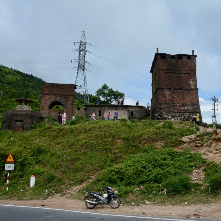 vietnam travel with kids hai van pass ruins