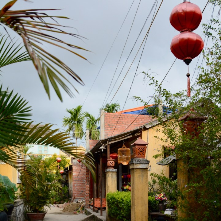 vietnam with kids hoi an street view
