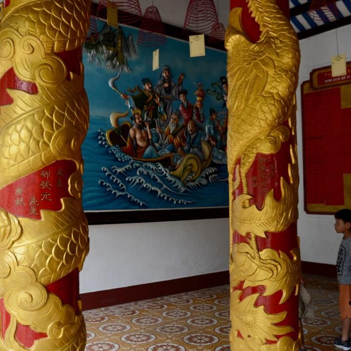 vietnam with kids hoi an fujian chinese congregation