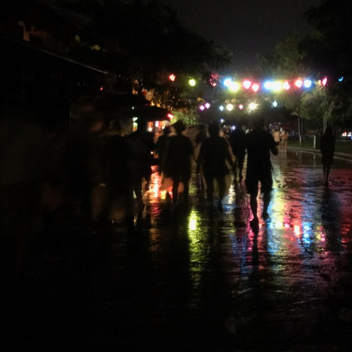 hoi an by night with kids rainy days