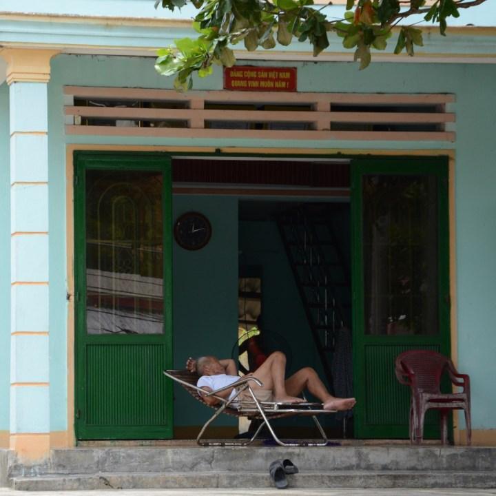 travel with kids vietnam tam than art village nap