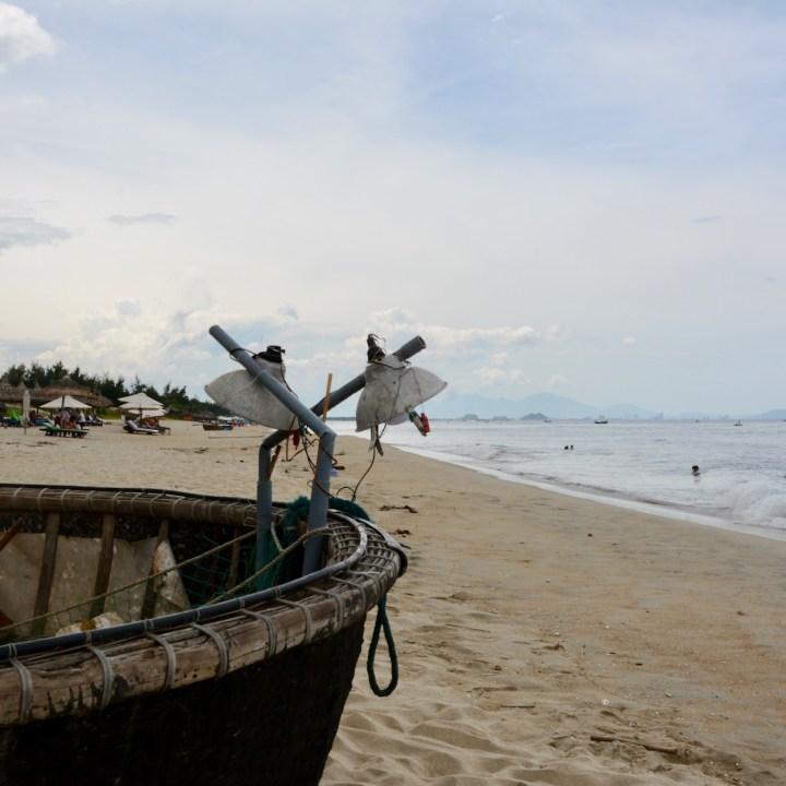 vietnam with kids an bang bike beach squid lamps