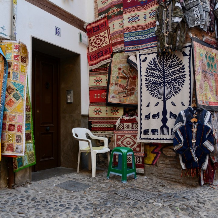 Granada spain with kids carpets