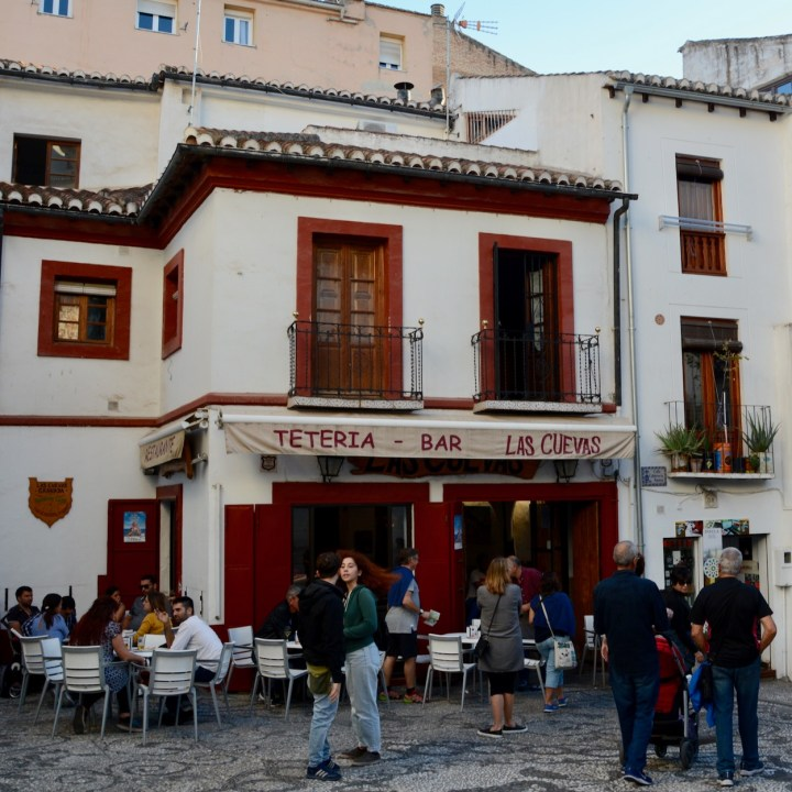 Granada spain with kids teteria