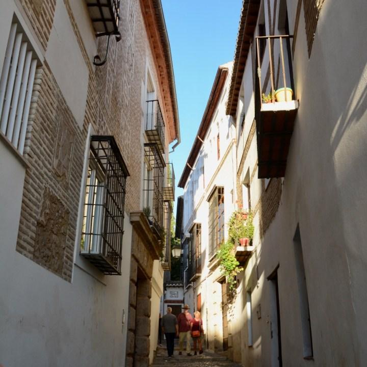 Granada spain with kids balcony