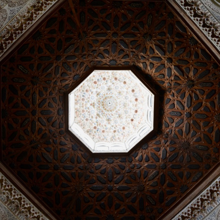 granada with kids prayer room ceiling
