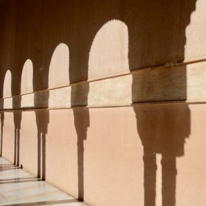 alhambra with kids nasrid palace shadows