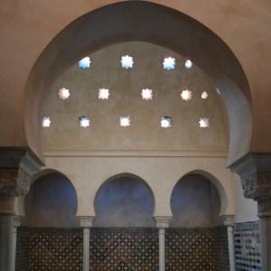 alhambra with kids nasrid palace hammam