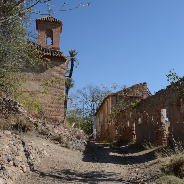 las alpujarras with kids abandoned village
