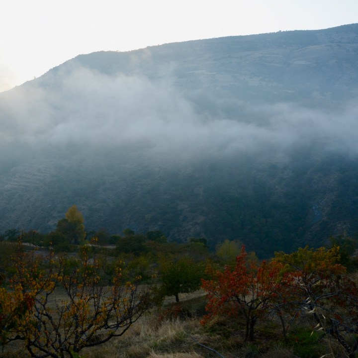 las alpujarras with kids bubion fog
